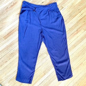 Anthropologie purple harem pants